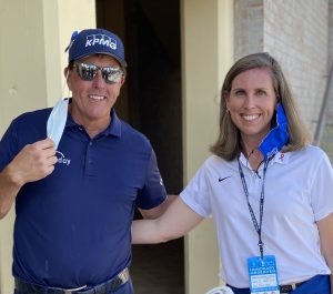 phil mickelson meets stacy hurt